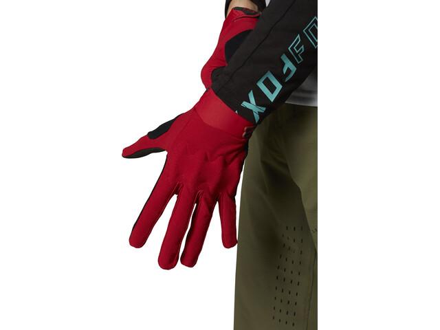 Fox Defend D3O Gloves Men, chili